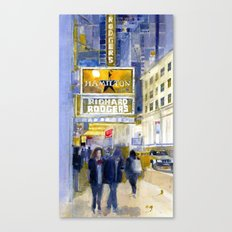 Richard Rodgers - NYC - Broadway - Theater District Canvas Print