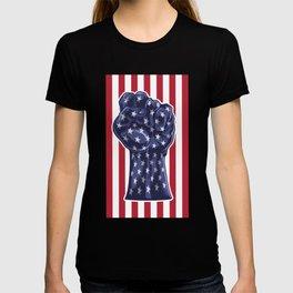 American Fist Flag Stars and Stripes T-shirt