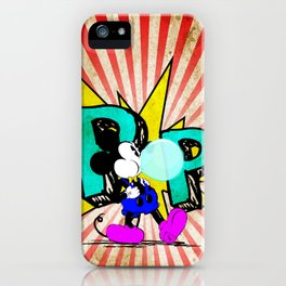 The Mouse - Pop iPhone Case