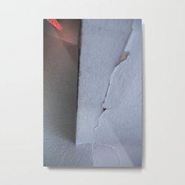 White composition 4 Metal Print
