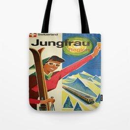 Vintage poster - Jungfrau, Switzerland Tote Bag
