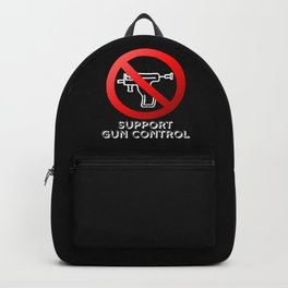 Gun Control for Piercing Guns Backpack