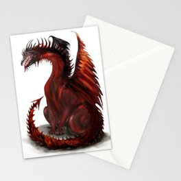 Challenger Lone Dragon Abstract Stationery Cards