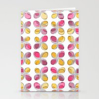 flower pattern Stationery Cards featuring flower pattern by VessDSign