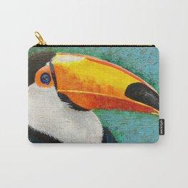 Colorful Toucan portrait Carry-All Pouch