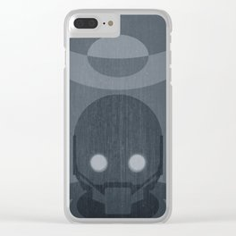Rogue One Minimalist Clear iPhone Case