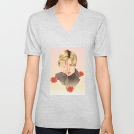 chrysanthemum [taemin shinee] Unisex V-Neck