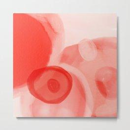 rose color salmon-pink feminin Metal Print