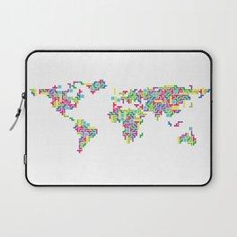 Tetris world (white one) Laptop Sleeve