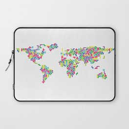 Tetris world (white one) Laptop Sleeve