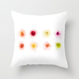 Rose Collection  Throw Pillow
