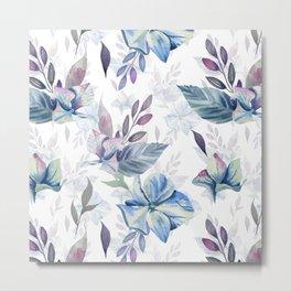 Spring hydrangea Metal Print