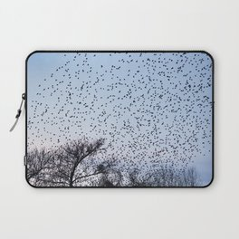 starling murmuration Laptop Sleeve