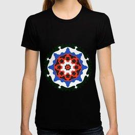 Bold and bright beauty of suzani patterns ver.7 T-shirt