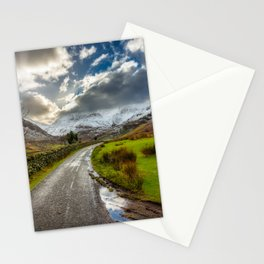 Welsh Valley Winter Stationery Cards