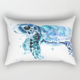 Sea Turtle Tortoise Rectangular Pillow