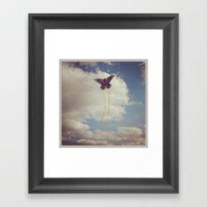 Let's Go Fly a Kite Framed Art Print
