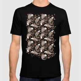 Opossum and Roses T-shirt