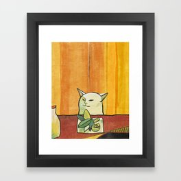 cat (2019) Framed Art Print