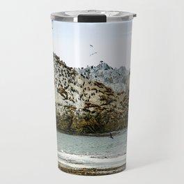 Bird Rock, Monterey, California Travel Mug