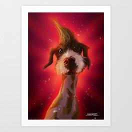 Karmadog Chum Art Print