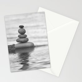 Seaside Harmony Zen Pebble Stationery Cards