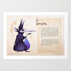 Real Monsters- Paranoia Art Print