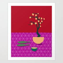 Fish Supper III Art Print