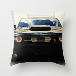 Hemi Mopar '10 Challenger Special Edition Throw Pillow
