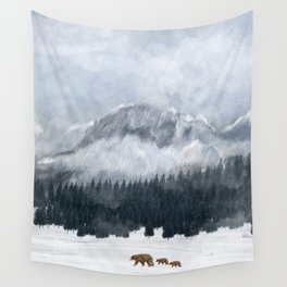 nature will find a way Wall Tapestry