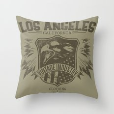 Los Angeles Eagles Throw Pillow