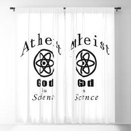atheism Blackout Curtain