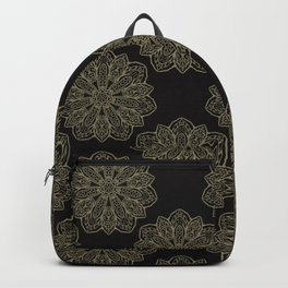 Floral Trendy Arabesque Mandalas Backpack