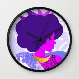 Queen's Robe Wall Clock