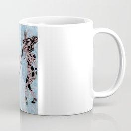 Pinup Girls on a Damask Coffee Mug