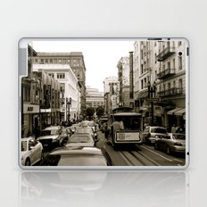 San Francisco Street B&W Laptop & iPad Skin