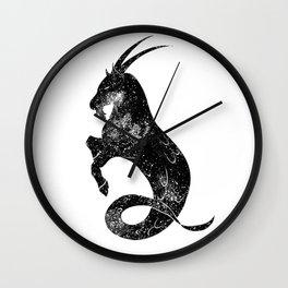 Capricorn Wall Clock
