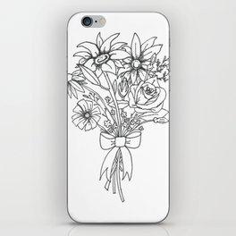 chlorophyll clots (white) iPhone Skin