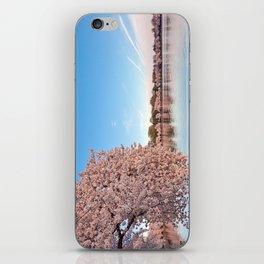 Washington DC Cherry Blossoms iPhone Skin