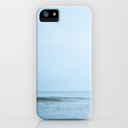Blue Day Wave iPhone Case