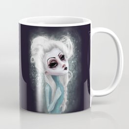 black cold surrounds me Coffee Mug