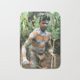 Papua New Guinea Villager Bath Mat