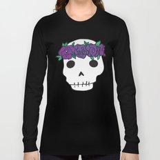 Princess Skull Long Sleeve T-shirt