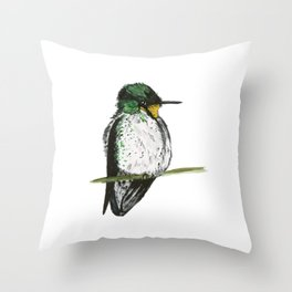Juan Fernandez Firecrown Throw Pillow