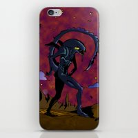 xenomorph iPhone & iPod Skins featuring ALIEN by flydesign