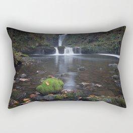 Sgwd Einion Gam Waterfall Country Rectangular Pillow