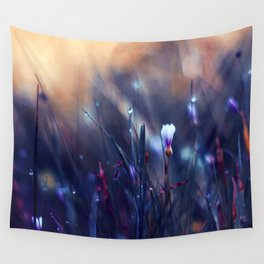 Lonely in Beauty Wall Tapestry