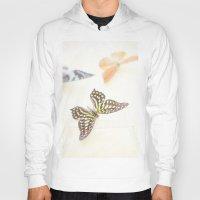 butterflies Hoodies featuring Butterflies  by Pure Nature Photos