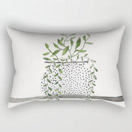 Vase 2 Rectangular Pillow