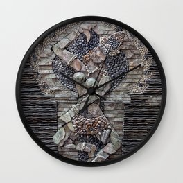 Mosaic Wall Art Wall Clock
